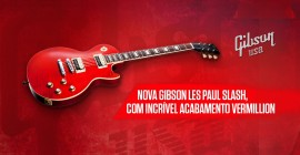 Nova Gibson Les Paul Slash Vermillion
