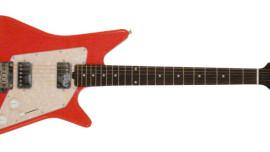 Music Man - Albert Lee Model RW HH - Coral Red w/ Vintage White PG