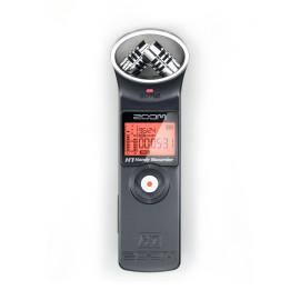 Zoom Gravador Digital de Áudio H1 Handy Recorder Preto