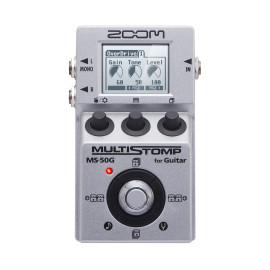 Zoom Pedal para Guitarra Multi-efeitos Stompbox MS-50G