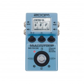 Zoom Pedal para Guitarra Multi-efeitos Stompbox MS-70CDR Chorus / Delay / Reverb