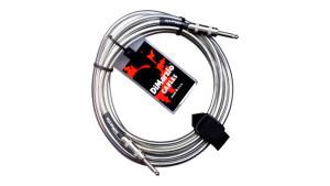 DiMarzio Chrome Cable 21 Pés (6,4 metros)