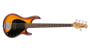 Sterling S.U.B. Ray 5 RW Honeyburst Satin