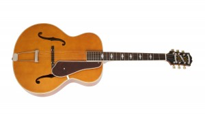 Epiphone Masterbilt Century DeLuxe Classic (F-Hole) Vintage Natural