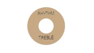 Gibson Placa Treble/Rhythm PRWA 030 Creme com print Dourado