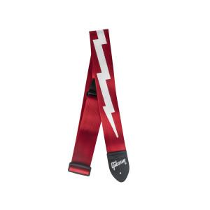 Gibson Correia Gibson Lightning Bolt Nylon Vermelha ASGSBL20