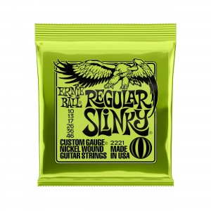 Ernie Ball Corda – (.010/.046) – Regular Slinky – 2221