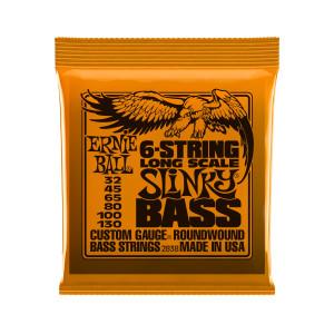 Ernie Ball Corda – (.032/.130) – 6-String Bass Slinky – 2838