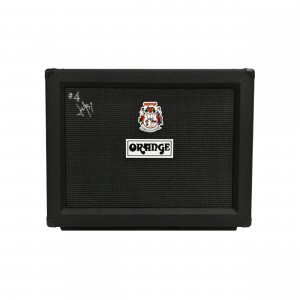 Orange Caixa Reta para Guitarra Signature #4 Jim Root 2×12 120W Black