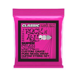 Ernie Ball Corda – (.009/.042) – Classic Super Slinky – 2253