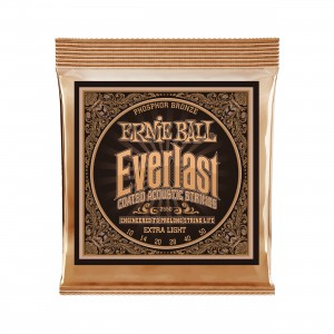 Ernie Ball Corda – (.010/.050) – Everlast Phosphor Extra Light – 2550