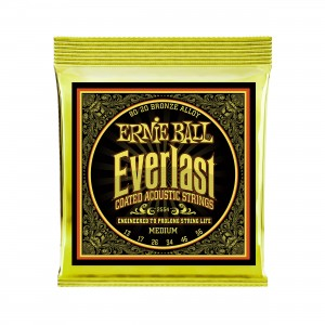 Ernie Ball Corda – (.013/.056) – Everlast 80/20 Medium – 2554