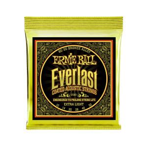 Ernie Ball Corda – (.010/.050) – Everlast 80/20 Extra Light – 2560