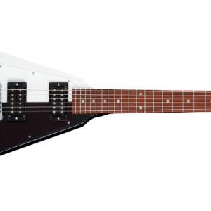 Gibson Flying V Rudolf Schenker Signature Black and White