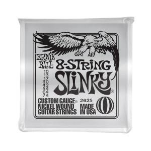 Ernie Ball Corda – (.010/.074) – 8-String Slinky – 2625