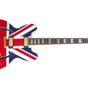 Epiphone Sheraton Union Jack Limited Edition Alpine White Union Jack