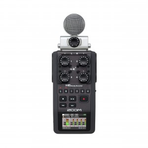 Zoom Gravador de Áudio H6 Handy Recorder