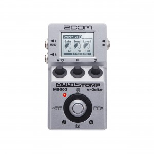 Zoom Pedal para Guitarra Multi-efeitos Stompbox MS-50G