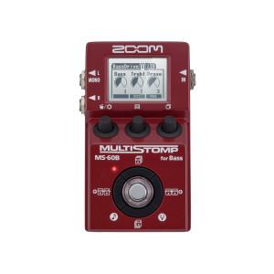 Zoom Pedal para Baixo Multi-efeitos Stompbox MS-60B