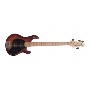 Music Man StingRay HH 5 MP Honeyburst com Escudo Preto
