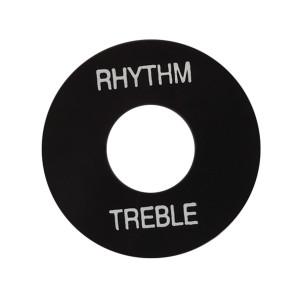 Gibson Placa Treble/Rhythm PRWA020 Preta com print Branco