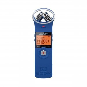 Zoom Gravador Digital de Áudio H1 Handy Recorder Azul