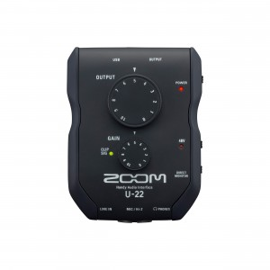 Zoom Interface de Áudio U-22