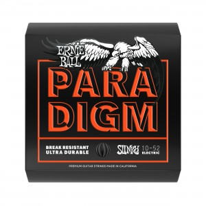 Ernie Ball Corda – (.010/.052) – Paradigm Skinny Top Heavy Bottom – 2015