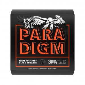 Ernie Ball Corda – (.010/.062) – Paradigm Skinny Top Heavy Bottom 7 Strings – 2030