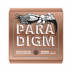 Ernie Ball Corda – (.012/.054) – Paradigm Phosphor Bronze Medium Light – 2076