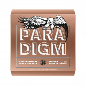 Ernie Ball Corda – (.010/.050) – Paradigm Phosphor Bronze Extra Light – 2080