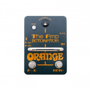 Orange Pedal de Efeito The Amp Detonator