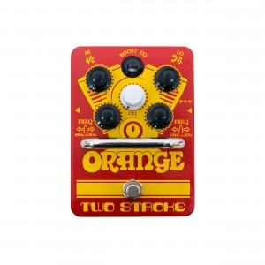 Orange Pedal de Efeitos Two Stroke Boost