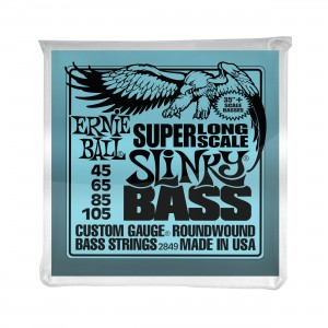 Ernie Ball Corda – (.045/.105) – Super Long Scale Slinky – 2849