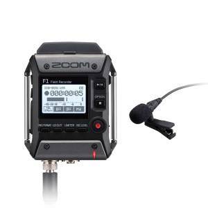 F1-LP – Gravador Zoom F1 com Microfone Lavalier