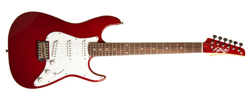 Seizi Vision RW Metallic Red com Escudo Branco Perolado