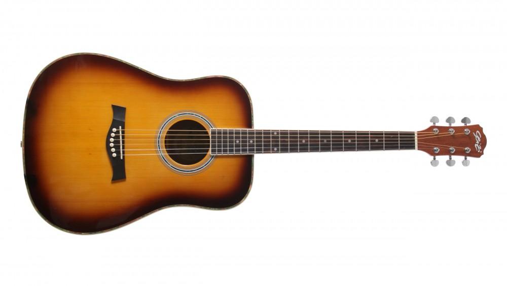 Seizi Tennessee Acoustic Blues Tobacco Sunburst