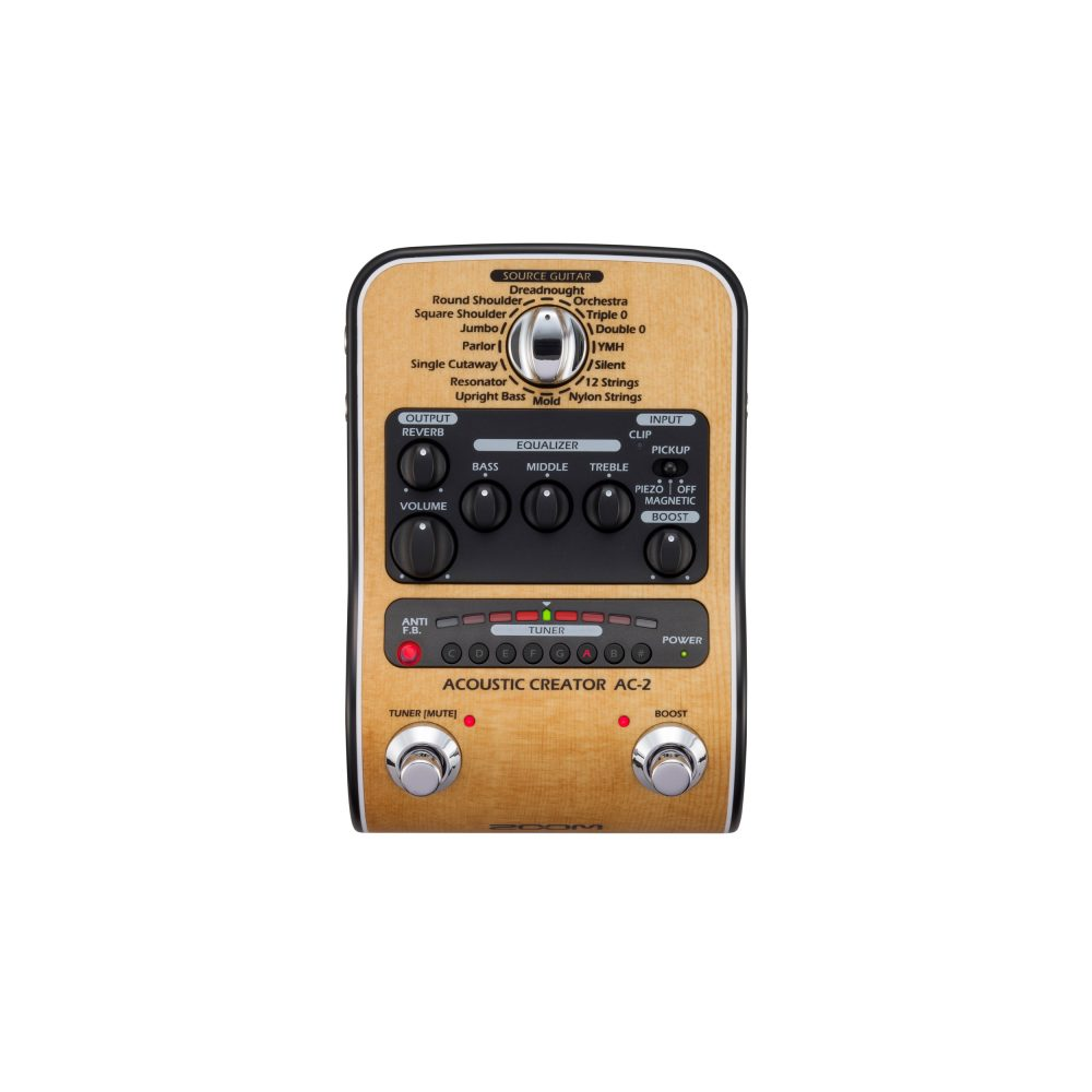 Pedaleira ZOOM AC-2 para violão