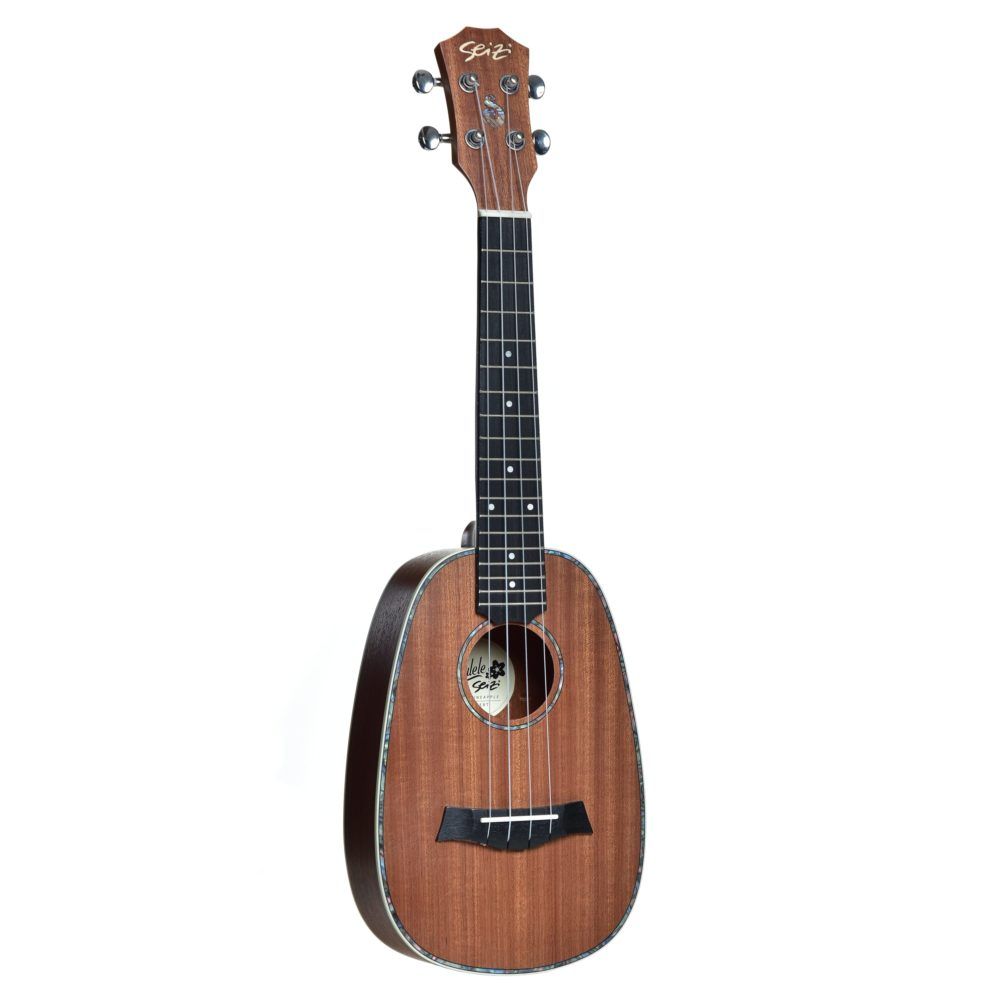 Ukulele Seizi Maui Plus – Pineapple Concert Acústico Bag Sapele