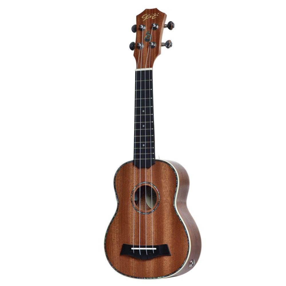 Ukulele Seizi Maui Plus – Soprano Elétrico Bag Sapele