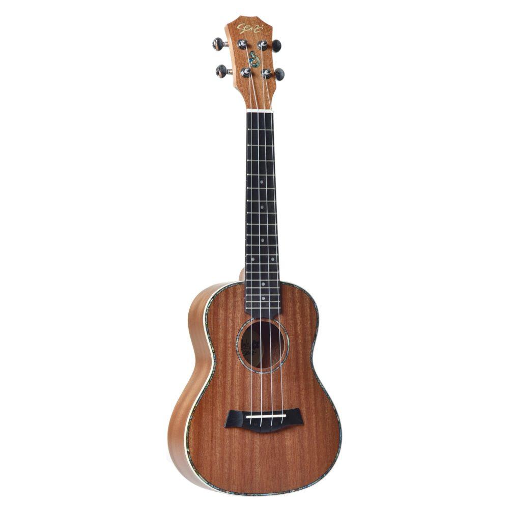 Ukulele Seizi Maui Plus – Concert Acústico Bag Sapele