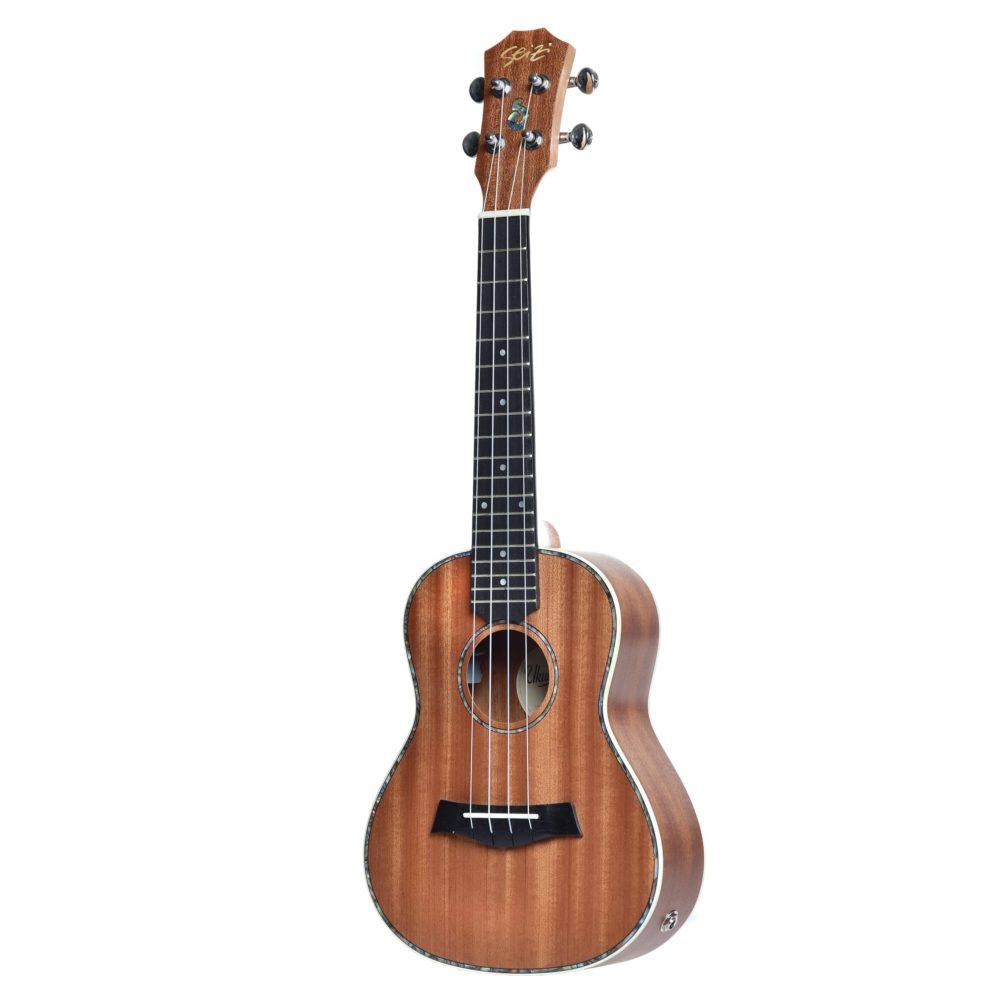 Ukulele Seizi Maui Plus – Concert Elétrico Bag Sapele