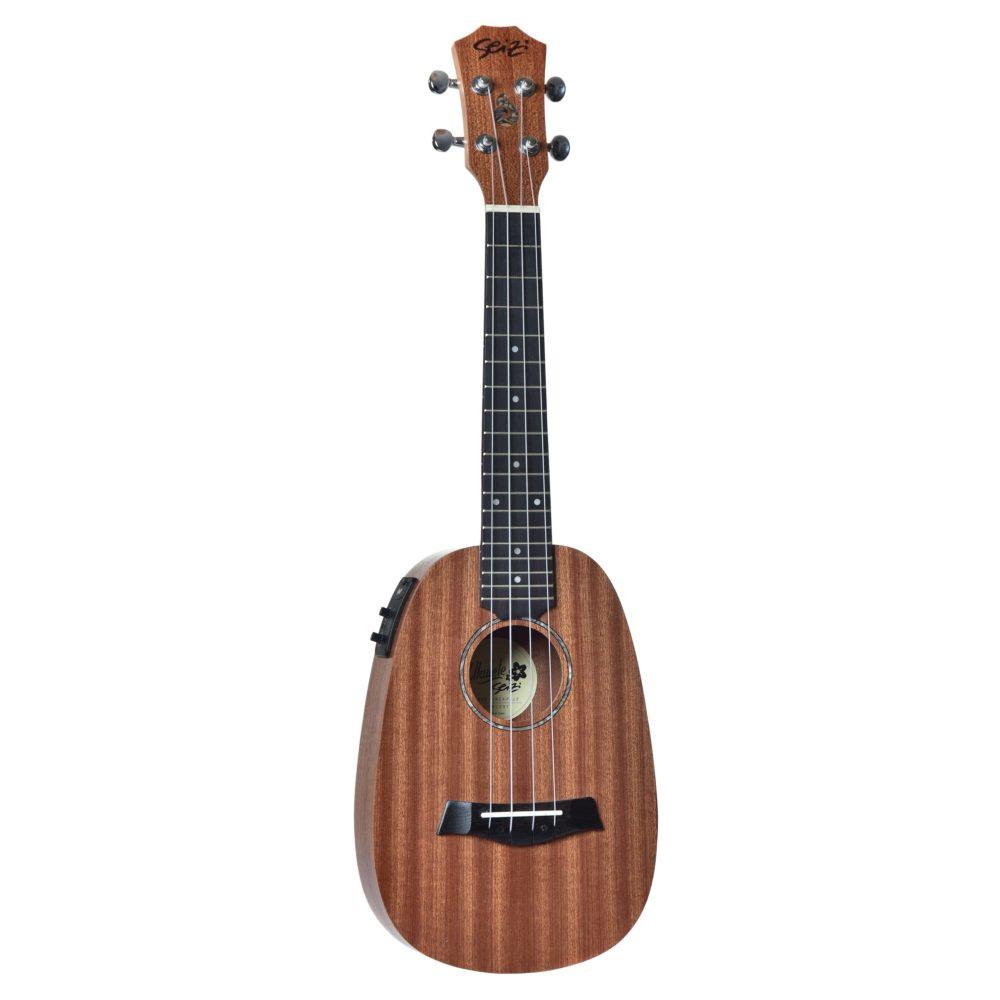 Seizi Ukulele Bali – Pineapple Concert Elétrico Sapele