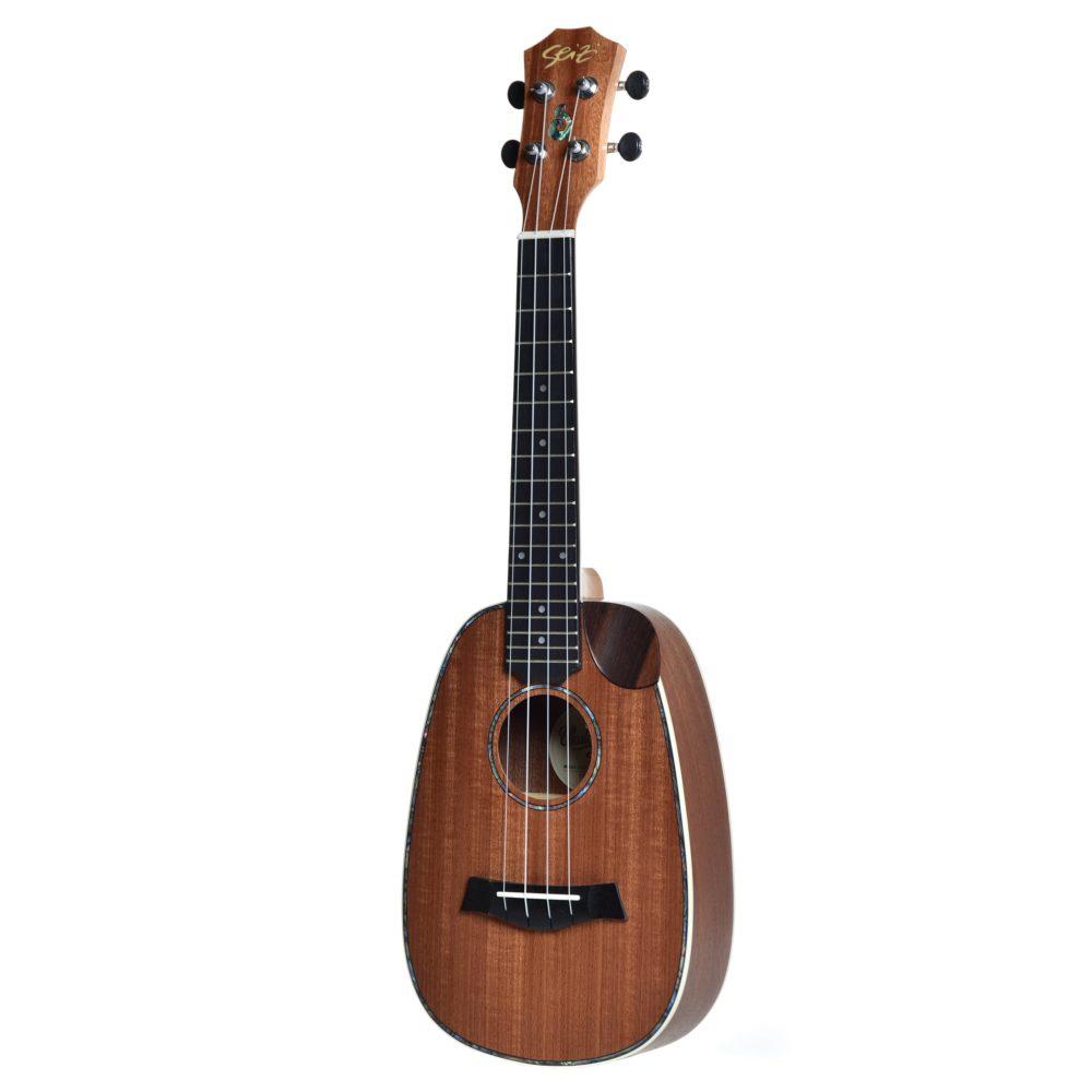 Ukulele Seizi Maui Crush – Pineapple Concert Acústico Bag Sapele