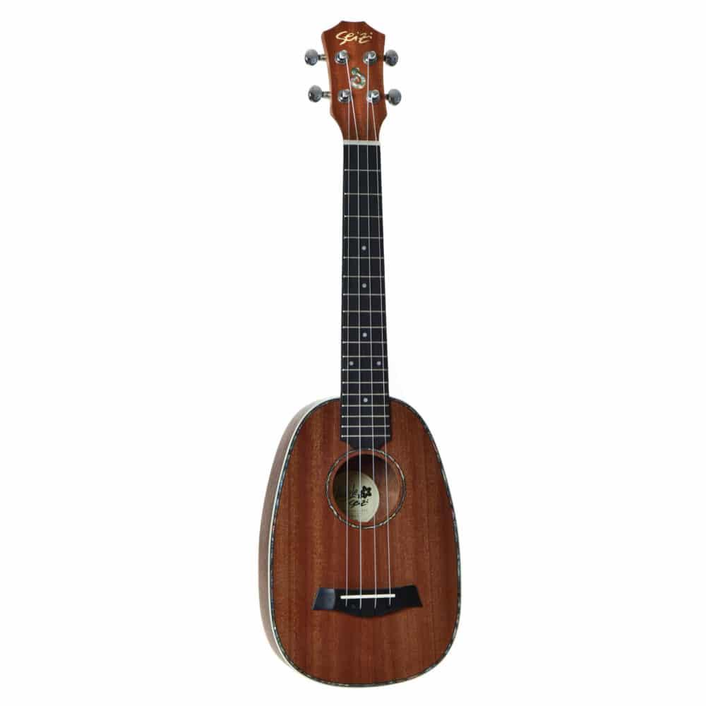 Ukulele Seizi Maui Plus – Pineapple Tenor Acústico Bag Sapele