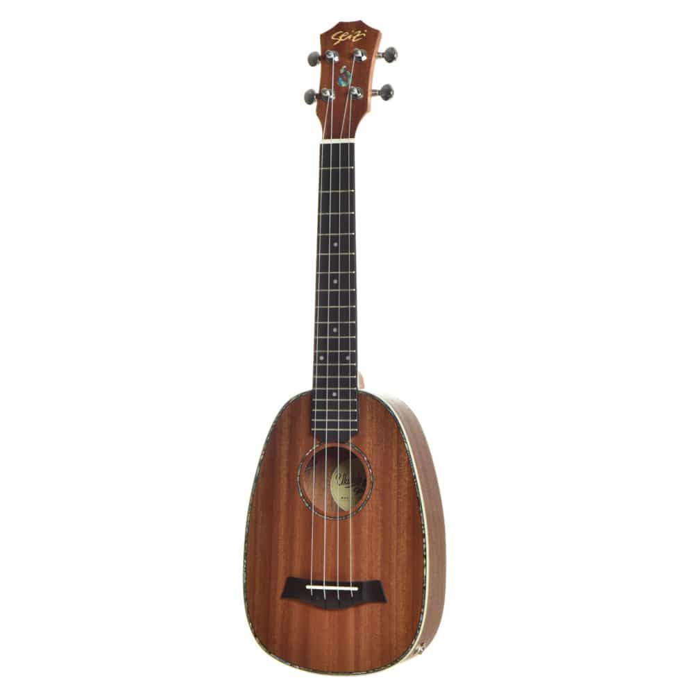 Ukulele Seizi Maui Plus – Pineapple Tenor Elétrico Bag Sapele