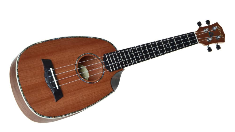 Ukulele Seizi Maui Crush – Pineapple Tenor Acústico Bag Sapele