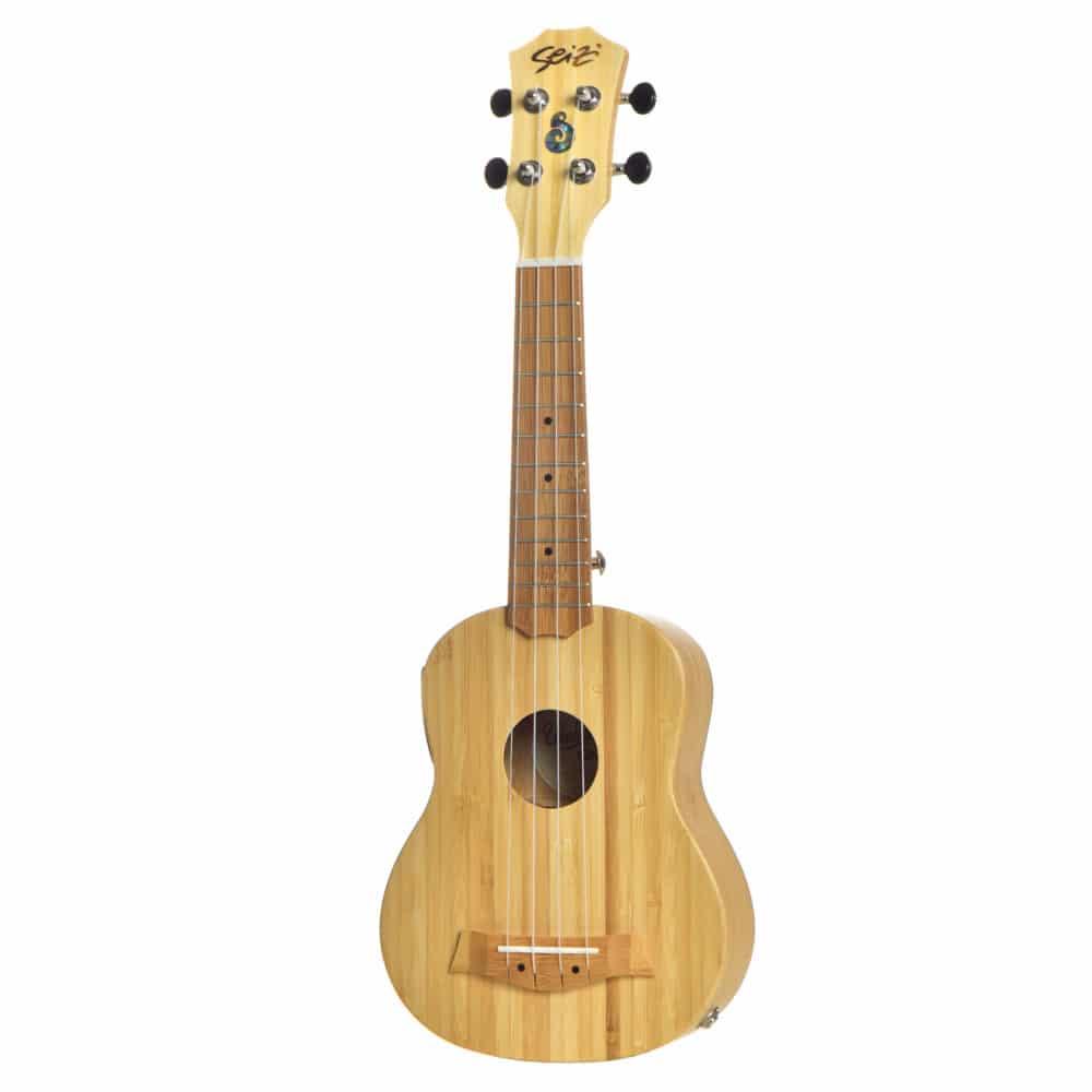 Seizi Ukulele Bali – Soprano Elétrico Solid Bamboo