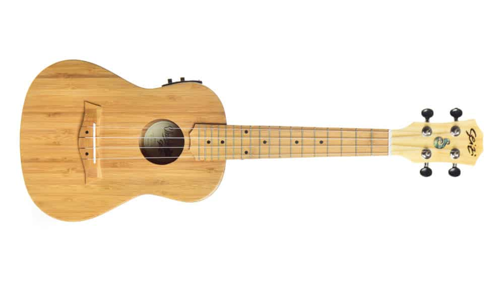 Seizi Ukulele Bali – Concert Elétrico Solid Bamboo