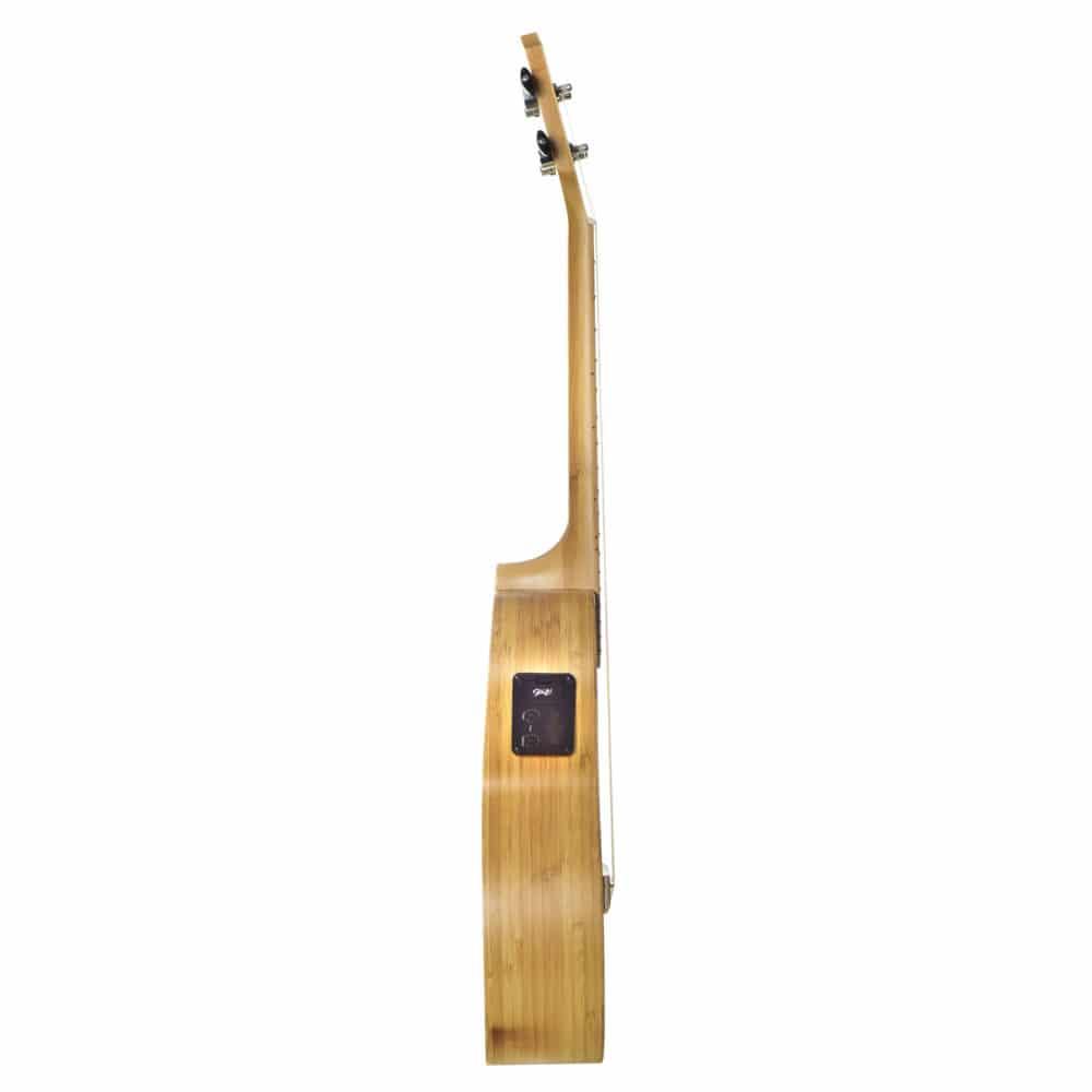 Seizi Ukulele Bali – Tenor Elétrico Solid Bamboo